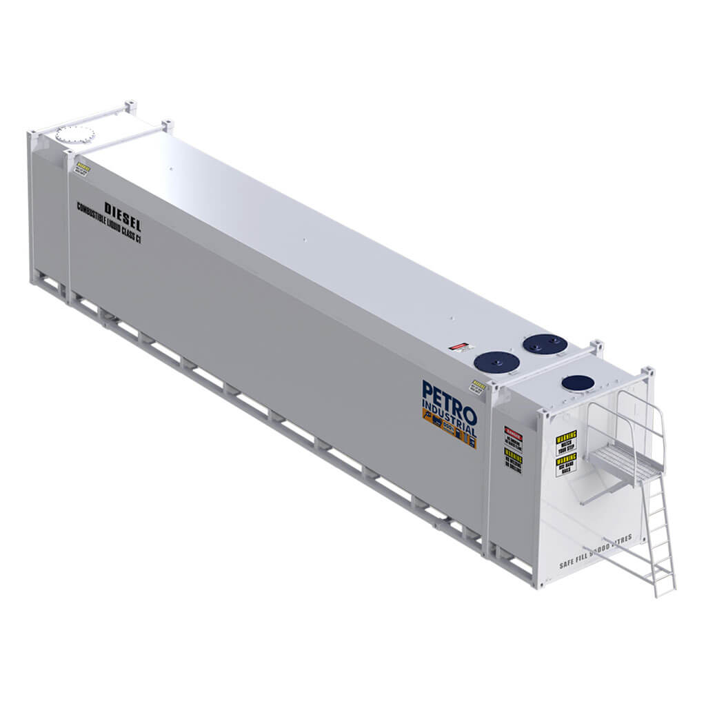 PETRO Industrial FT100 Self Bunded Double Wall Containerised Fuel Storage Tank
