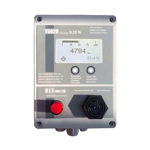 OLE Tank Gauge T5020 c/w Probe for tanks <3m in height - T5020-1A-3M