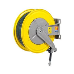 MECLUBE HOSE REEL - Spring Rewind, 15m x 19mm id Hose - 070-1506-515-CATA