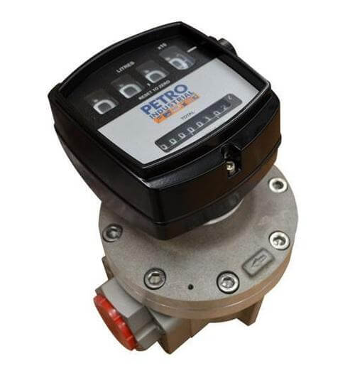PETRO FLOW METER RANGE Scr BSP Female, 4 Digital Mechanical Register with Totaliser - PE025A001-211M3- CATA