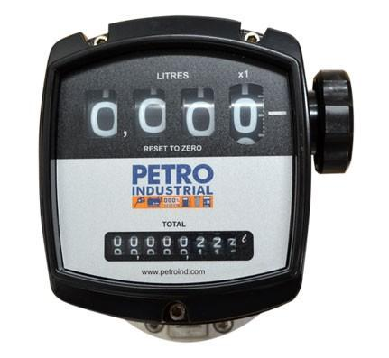 PETRO FLOW METER RANGE, 4 Digital Mechanical Register