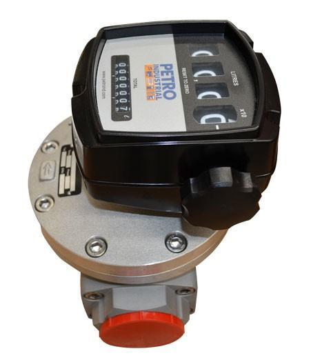 PETRO FLOW METER 4 Digital Mechanical Register with Totaliser