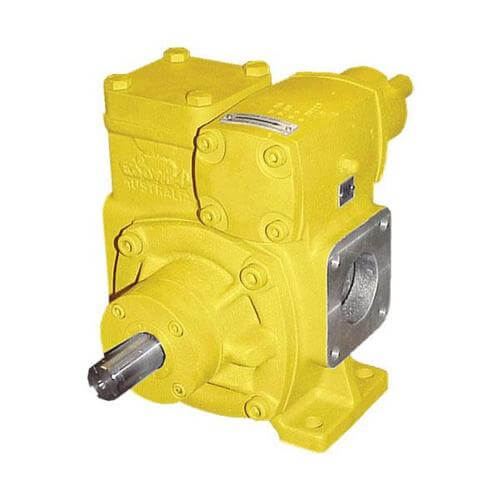 EBSRAY PUMPS - POSITIVE DISPLACEMENT SLIDING VANE PUMPS - EBS-RAY