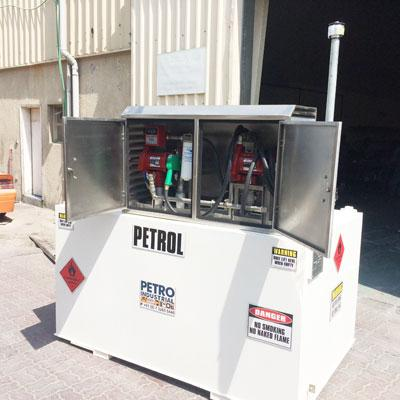 PETRO Fire Rated Petrol Self Bunded Tank