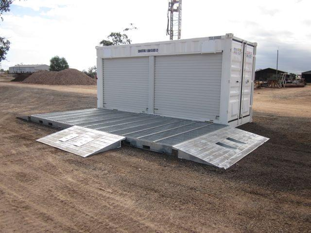 Spill Containment Unit with ramps - Bunded - PETRO Industrial