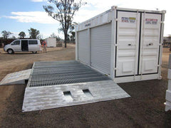 Spill Containment Unit with ramps at Fuel Tank - PETRO Industrial