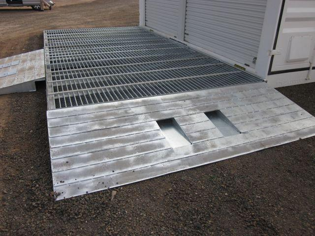 Fuel Spill Containment Unit with Ramp - PETRO Industrial