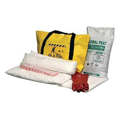 Fuel and Oil Spill Kit Absorbent Capacity 26 litres - SKHMT