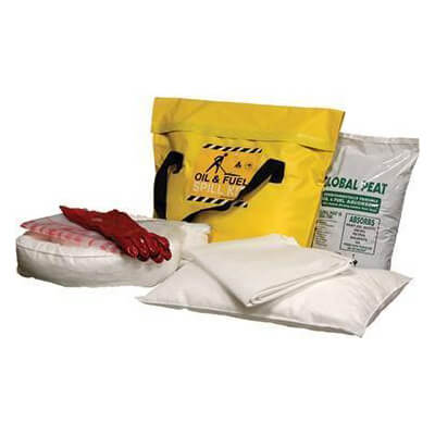 Fuel and Oil Spill Kit Absorbent Capacity 37 litres - SKHET