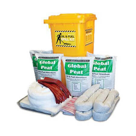 Spill Kit - Oil and Fuel Economy Plus 235L Absorbent Capacity