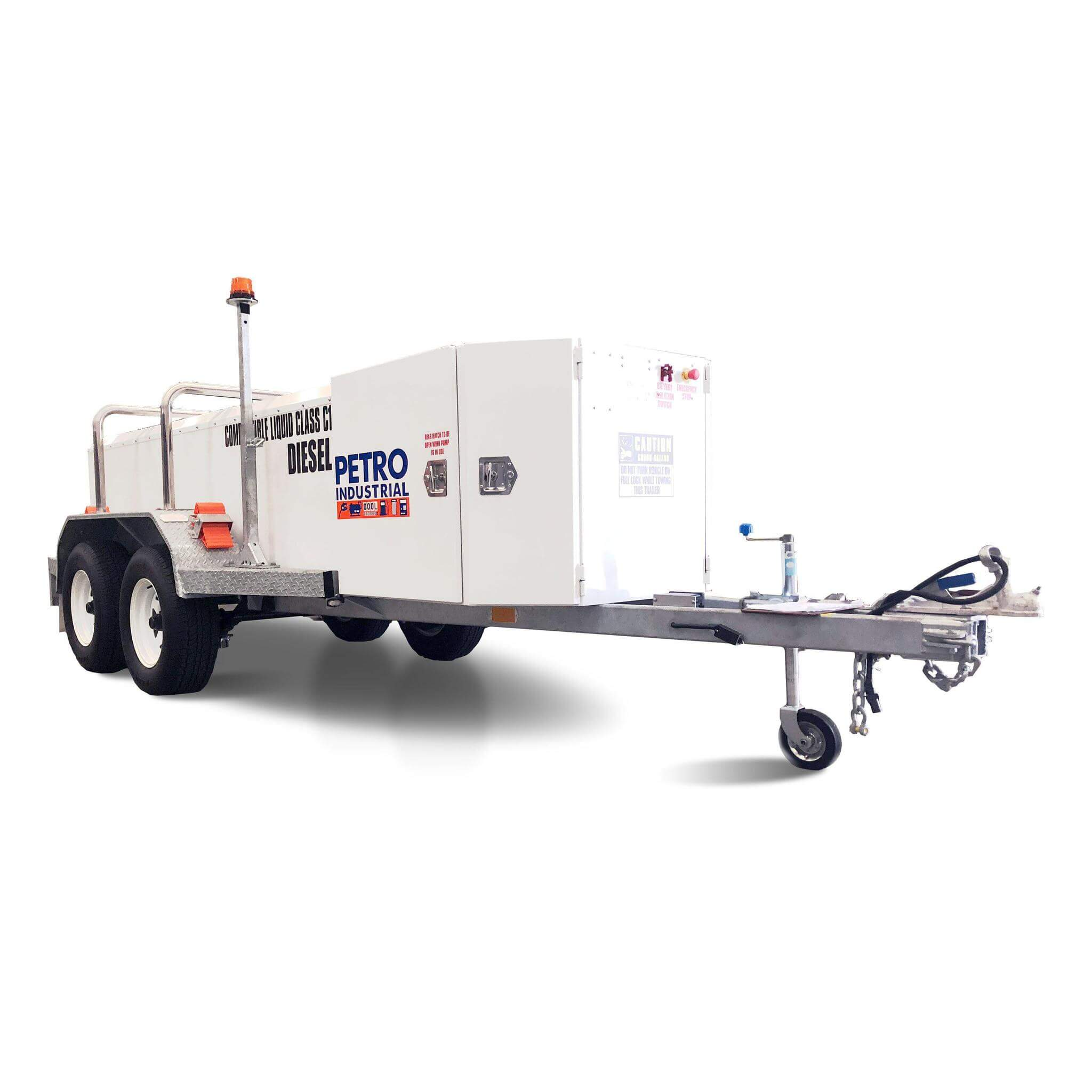 TRAILER PETRO Self Bunded Low Profile Galvanised Dual Axle – TRAILER-LP-1250