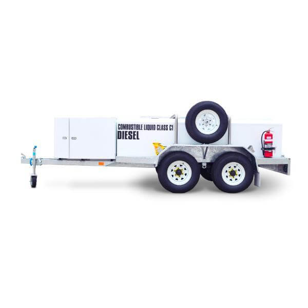 1250 litre Low Profile Self Bunded TRAILER - PETRO Industrial