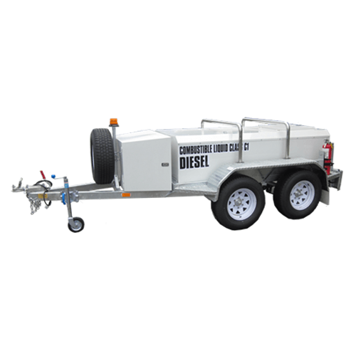 1250 litre Low Profile Self Bunded Fuel TRAILER - PETRO Industrial