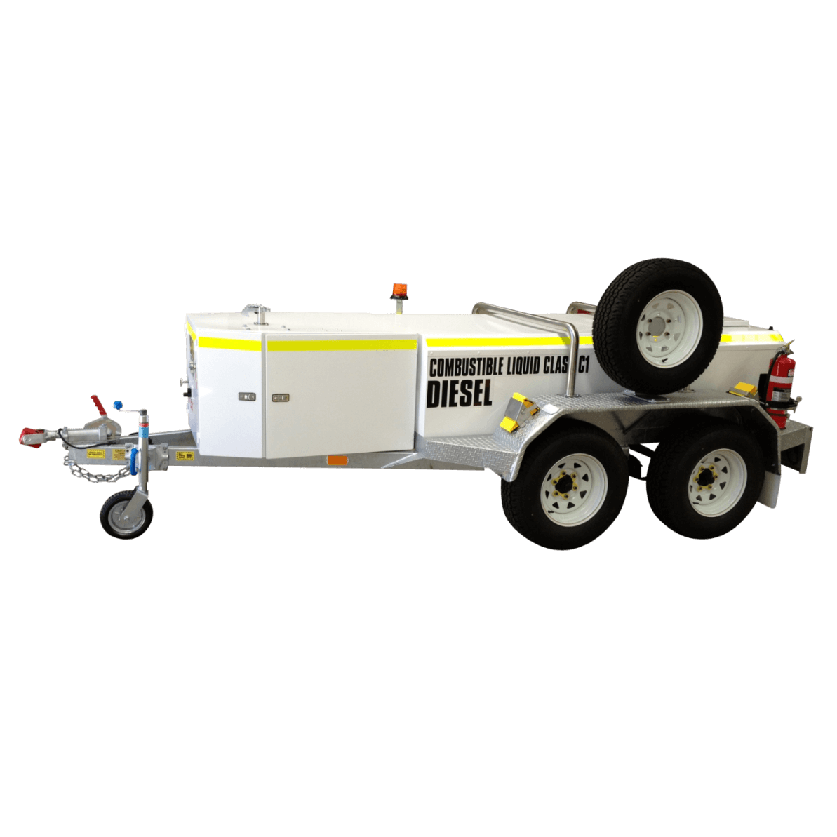PETRO Self Bunded Low Profile Trailer - Galvanised Dual Axle