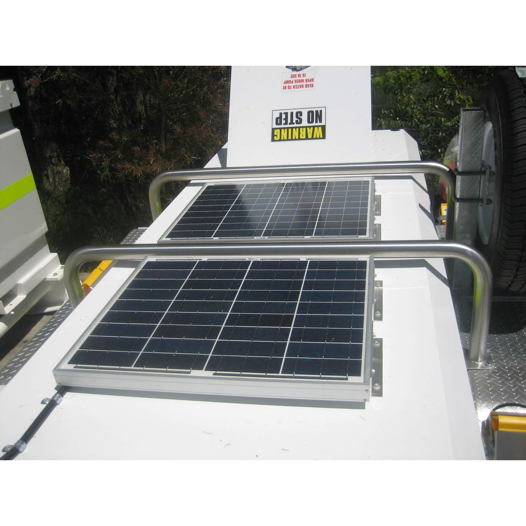 Diesel Fuel Trailer with Solar Panels – PETRO Industrial