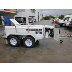 1250 litre Low Profile Self Bunded Fuel TRAILER - Pump Bay - PETRO Industrial