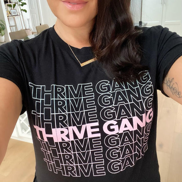 "Thrive Gang ""Thank You"" Unisex T-Shirt"