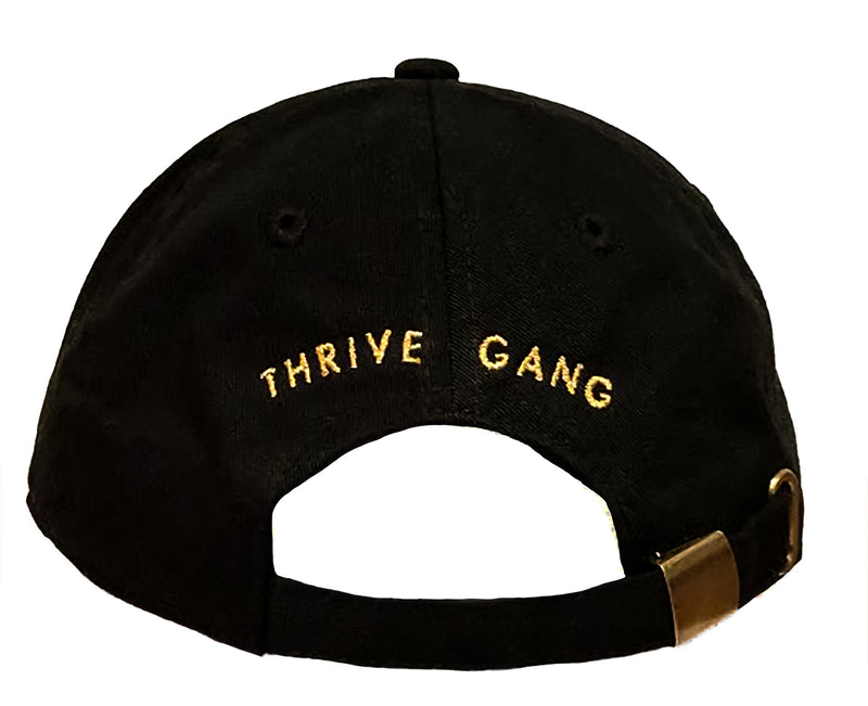 Thrive Gang Dad Hat - Black