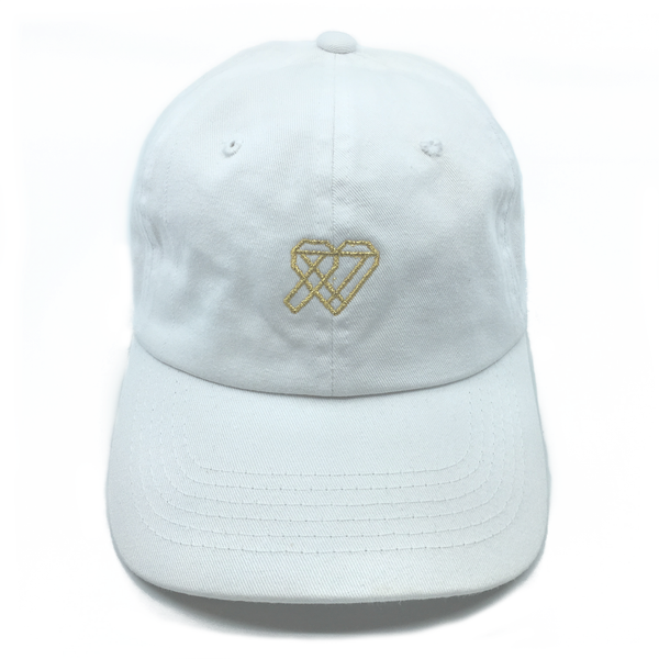 Thrive Gang Dad Hat - White
