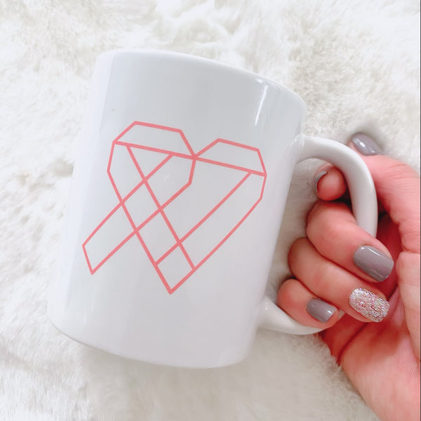 Thrive Gang Logo White Mug