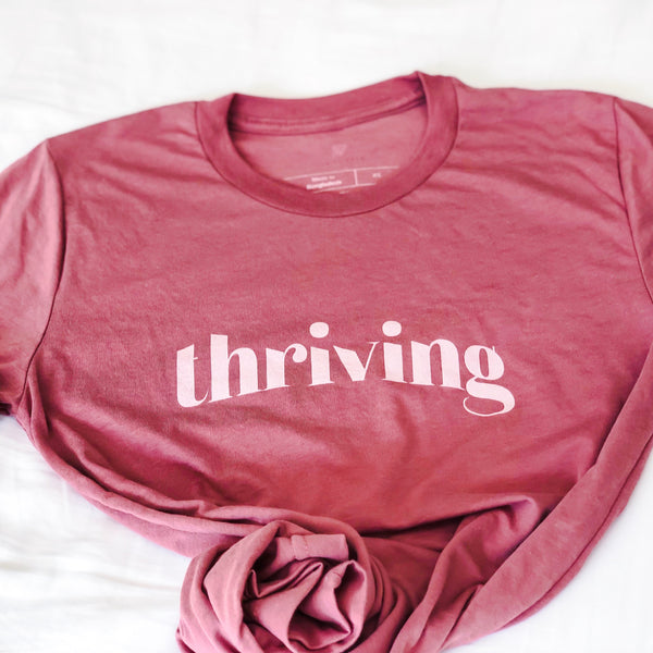 """THRIVING"" Thrive Gang Tri-Blend T-Shirt"