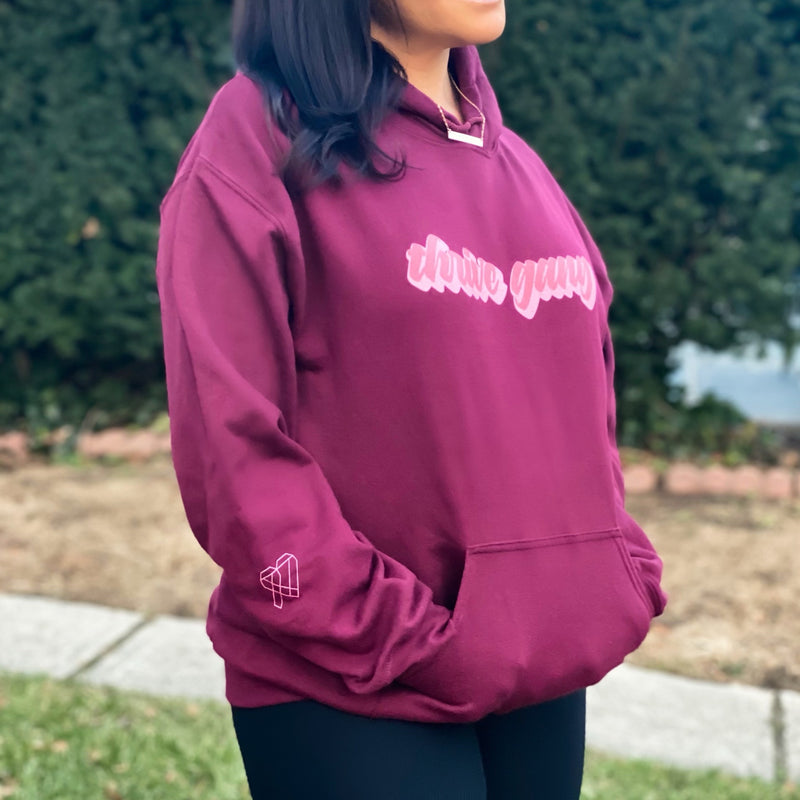 Thrive Gang Retro Hoodie Sweatshirt