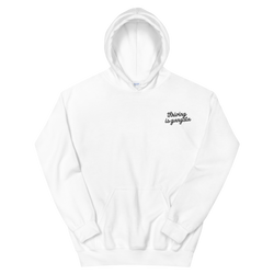 THRIVING IS GANGSTA Embroidered - Thrive Gang Unisex Hoodie Sweatshirt