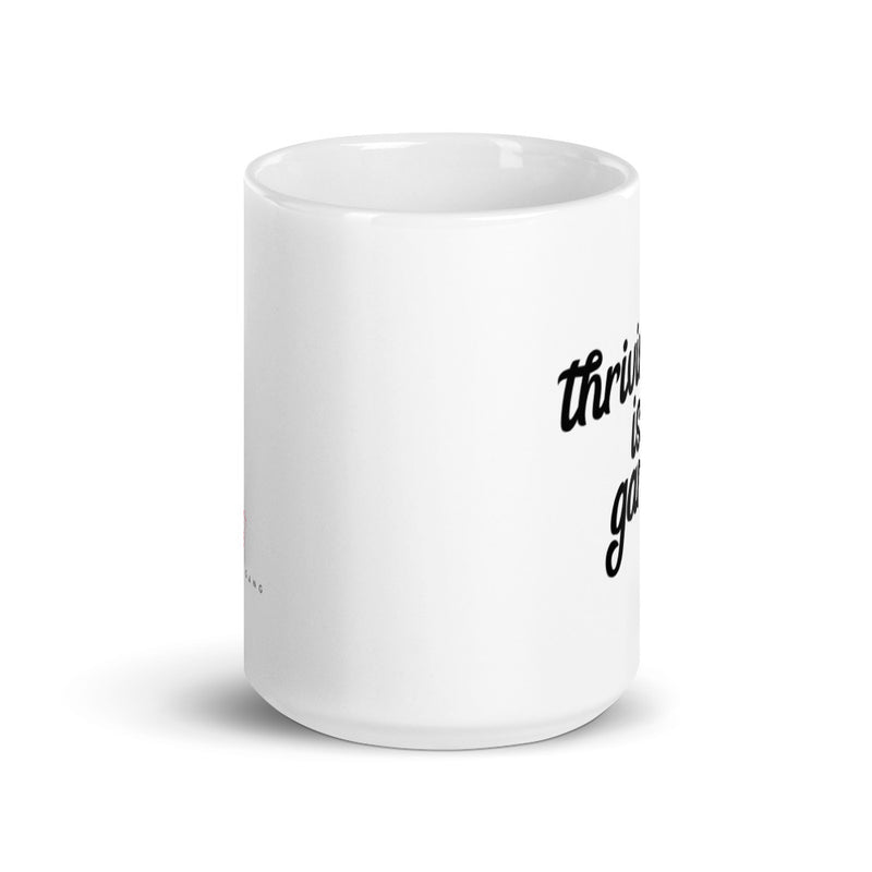 Thriving is Gangsta - Thrive Gang White Mug