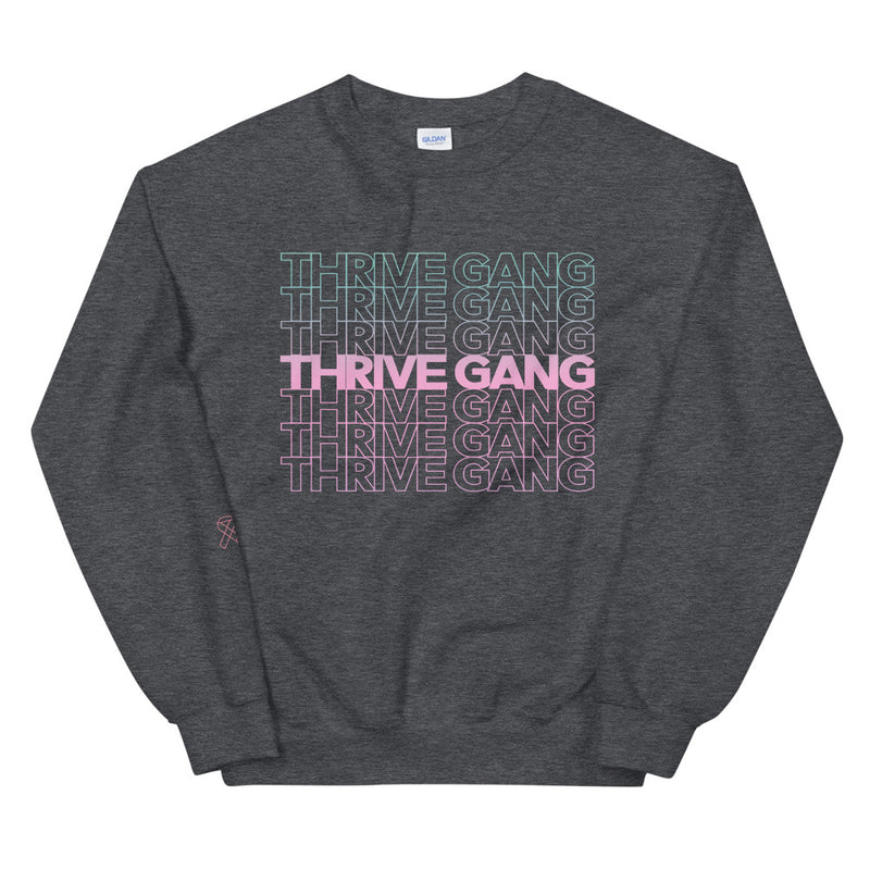 "Thrive Gang ""THANK YOU"" Unisex Sweatshirt"