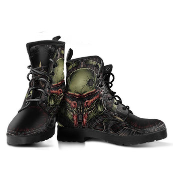 Limited Edition Boba Fett The Hunter leather-boots