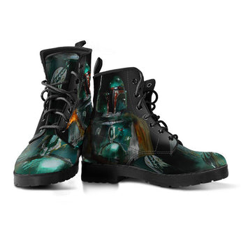 Limited Edition Boba Fett Portraits leather-boots