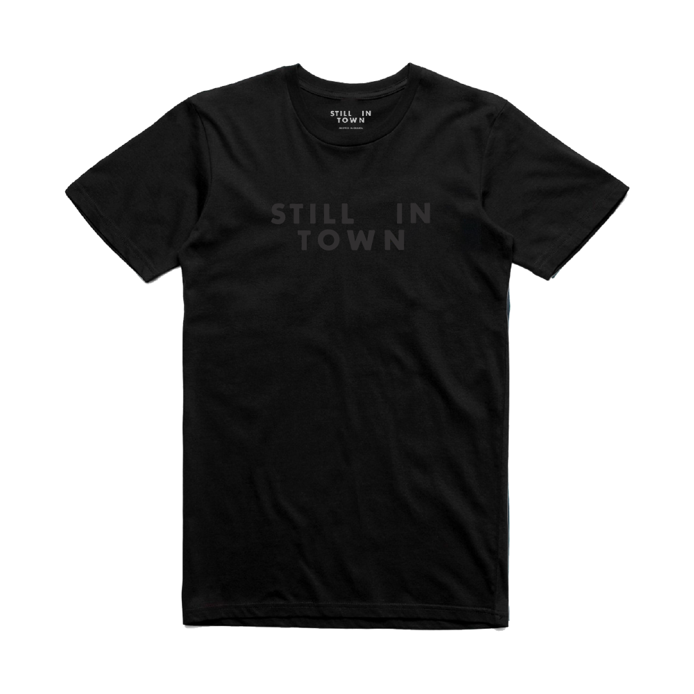 Still in Town T-Shirt - Black