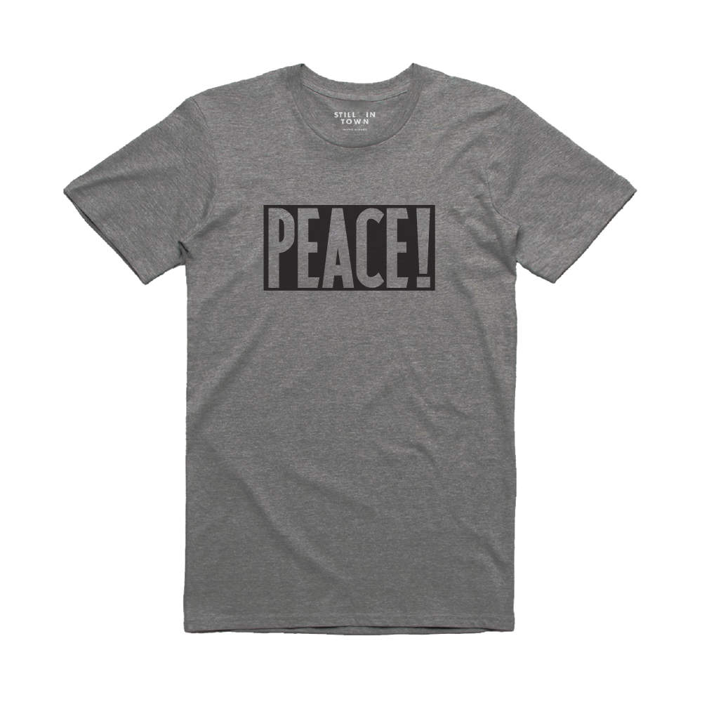 Peace! T-Shirt - Grey