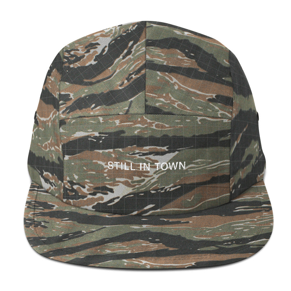 Still in Town Five Panel Camper
