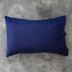 Blaze Navy Pillowcase