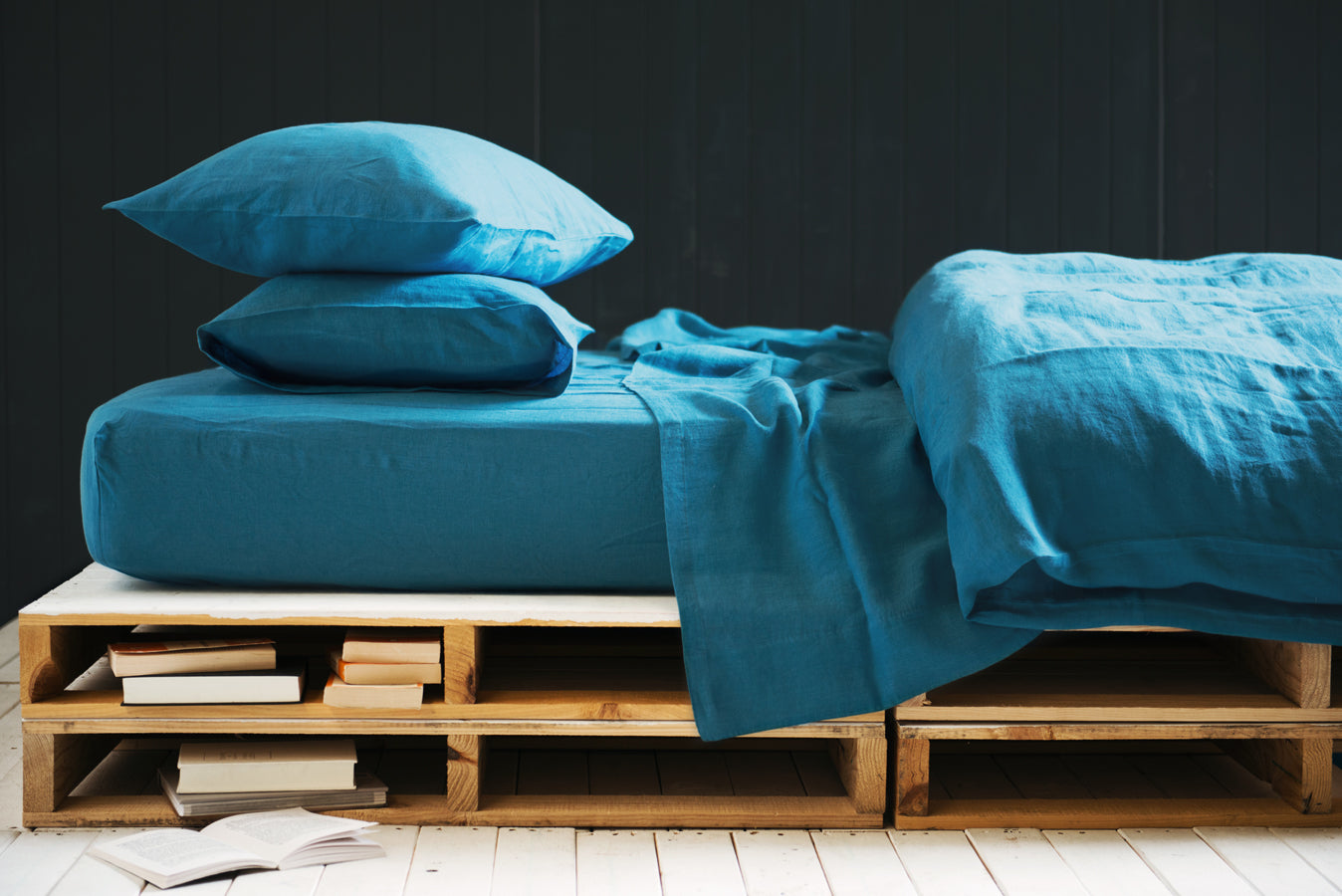 Flat Sheets in Flash Blue