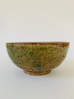 Small ceramic handmade bowl.