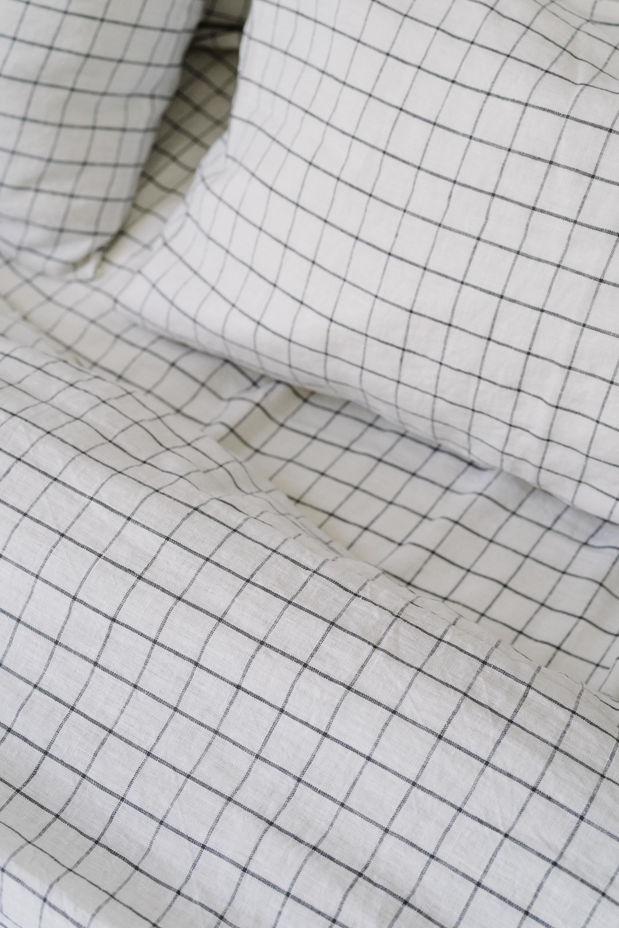 Quilt Cover in Grid