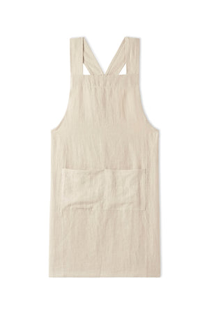 Japanese Apron in Natural