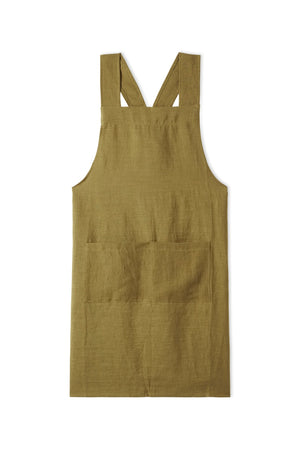 Japanese Apron in Olive