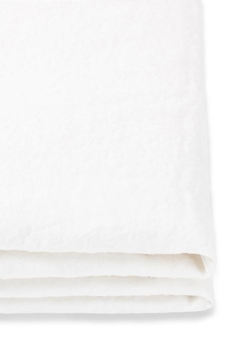 Linen Quilt Cover in White