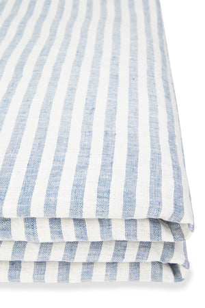 Quilt Covers in French Blue Stripe