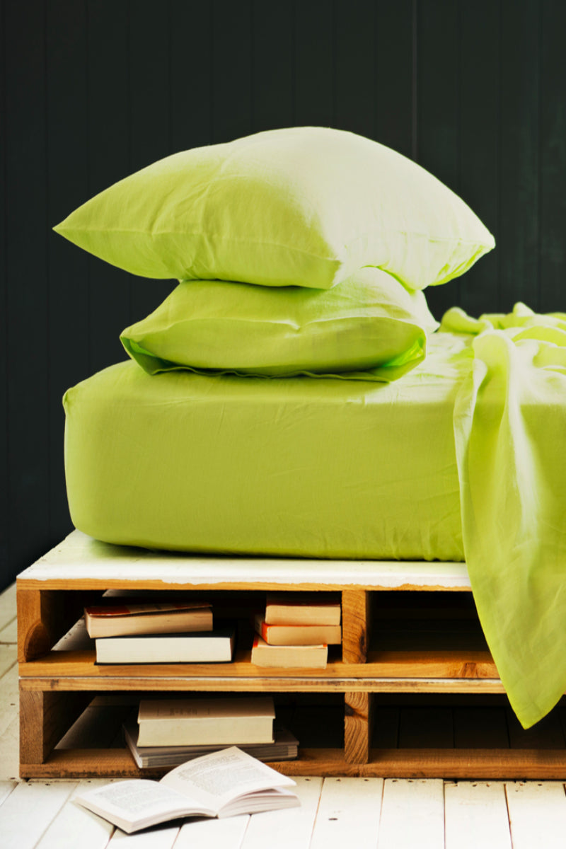 Pillowslip Set in Lime