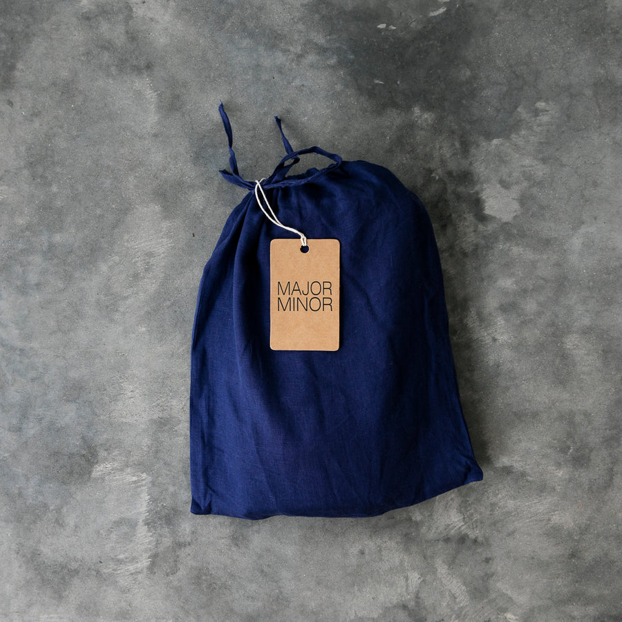 Sale Fitted Sheets - Navy