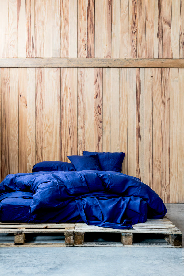 Flat Sheets in Navy