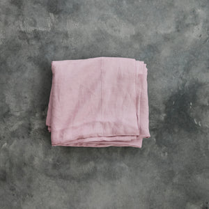 Flat Sheets in Old Pink
