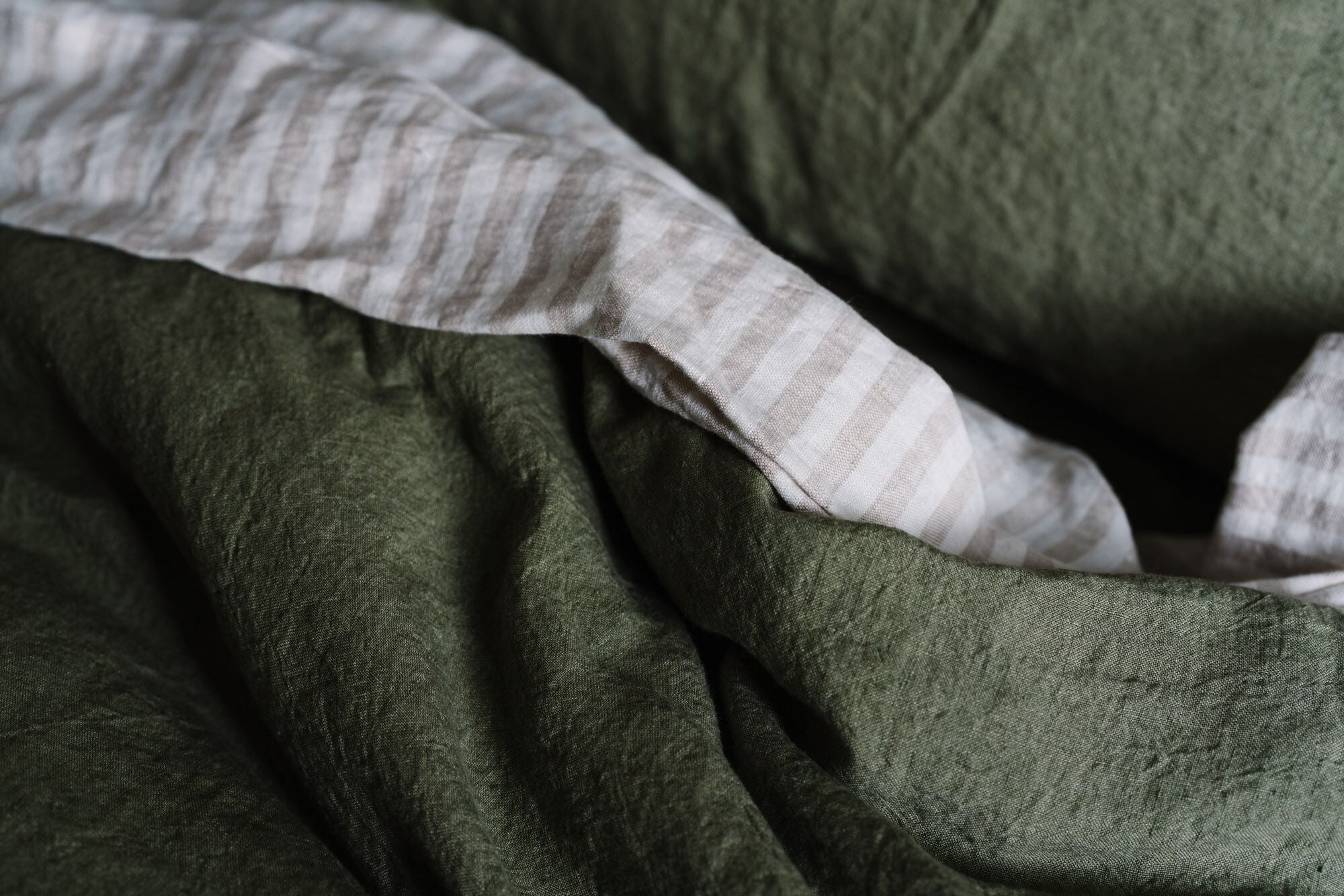Pillowslip Set in Olive