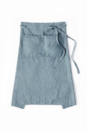 Garcon Full Apron in French Blue