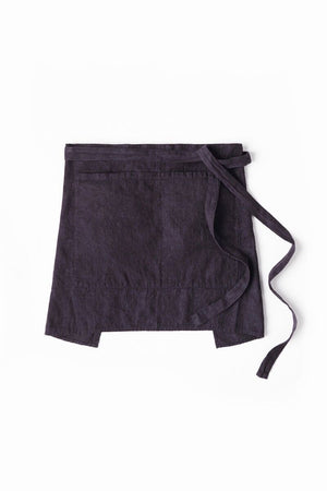 Garcon Half Apron in Dark Denim