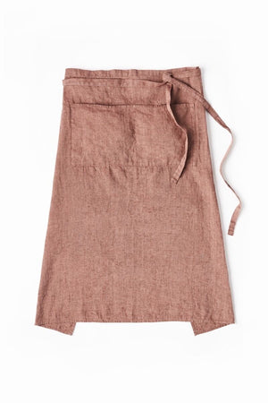 Garcon Full Apron in Rust
